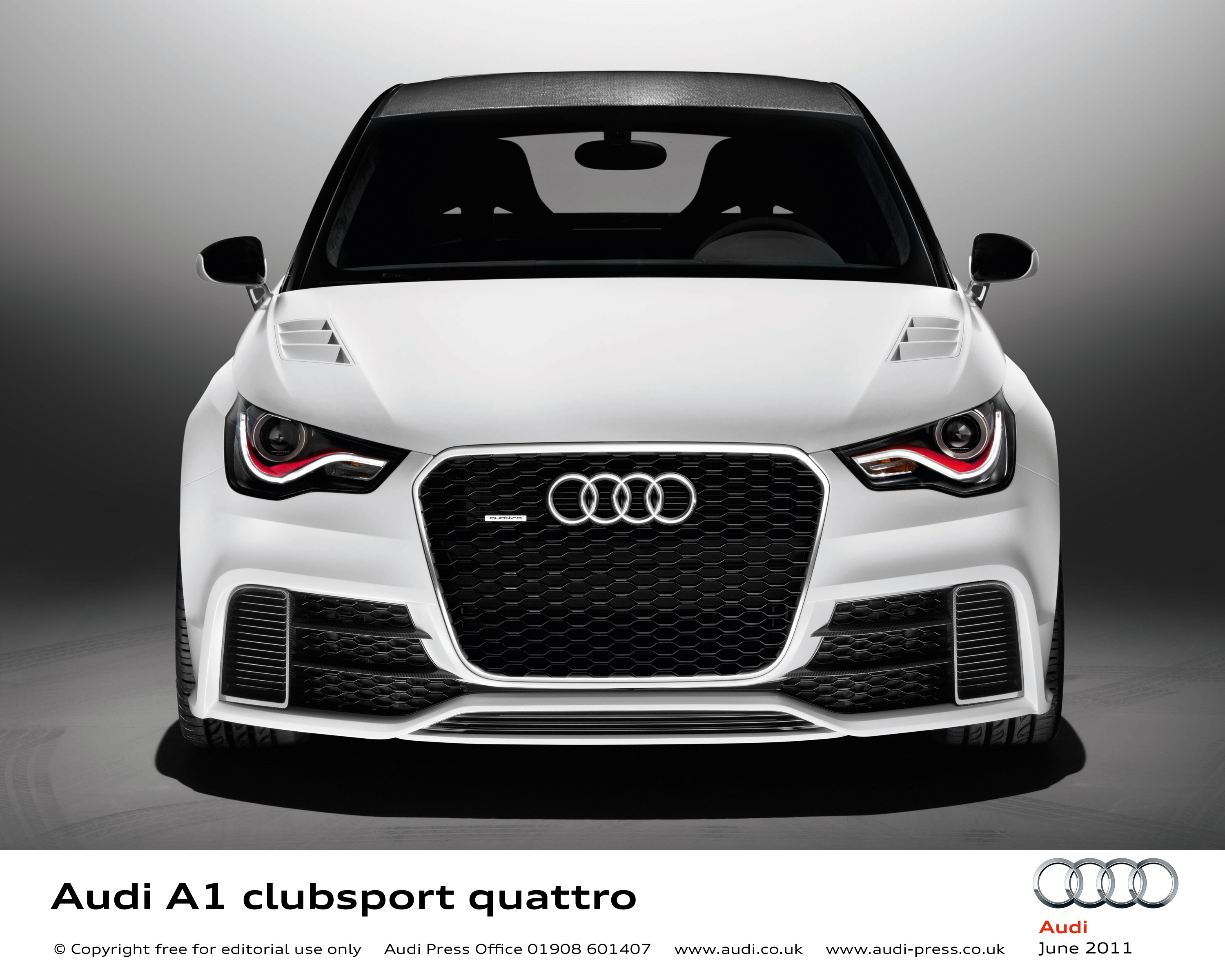 503ps Audi A1 Clubsport Quattro Wows Worthersee 2011