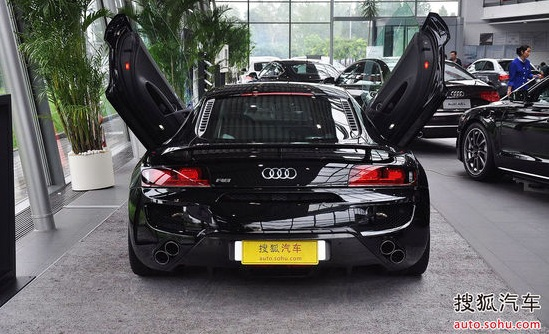 Abt Audi R8 5 0 V10 With Lambo Doors Showcased In Beijing