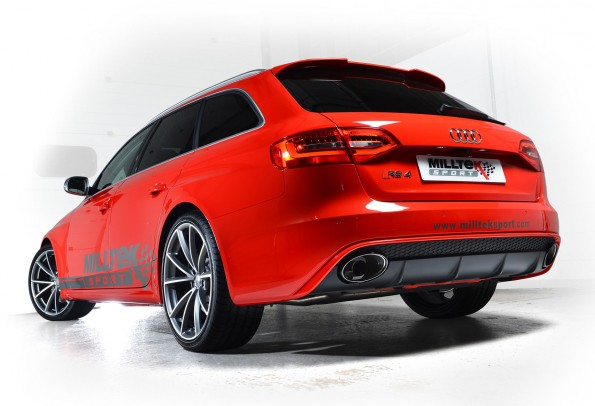 Audi RS4 v8 Milltek
