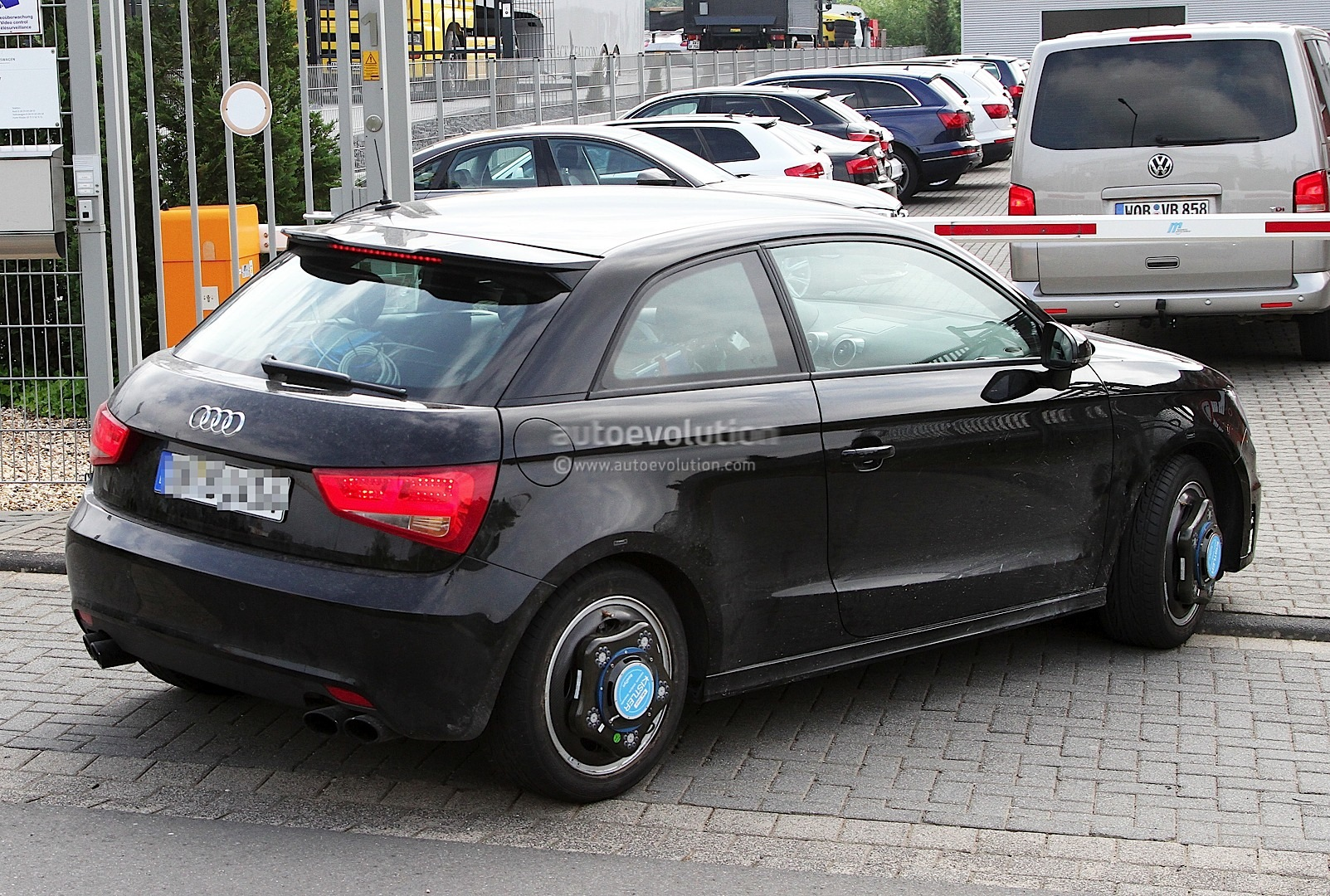 Audi S1 Spotted Testing In Latest Spyshots 1080p 4 Rs246 Com
