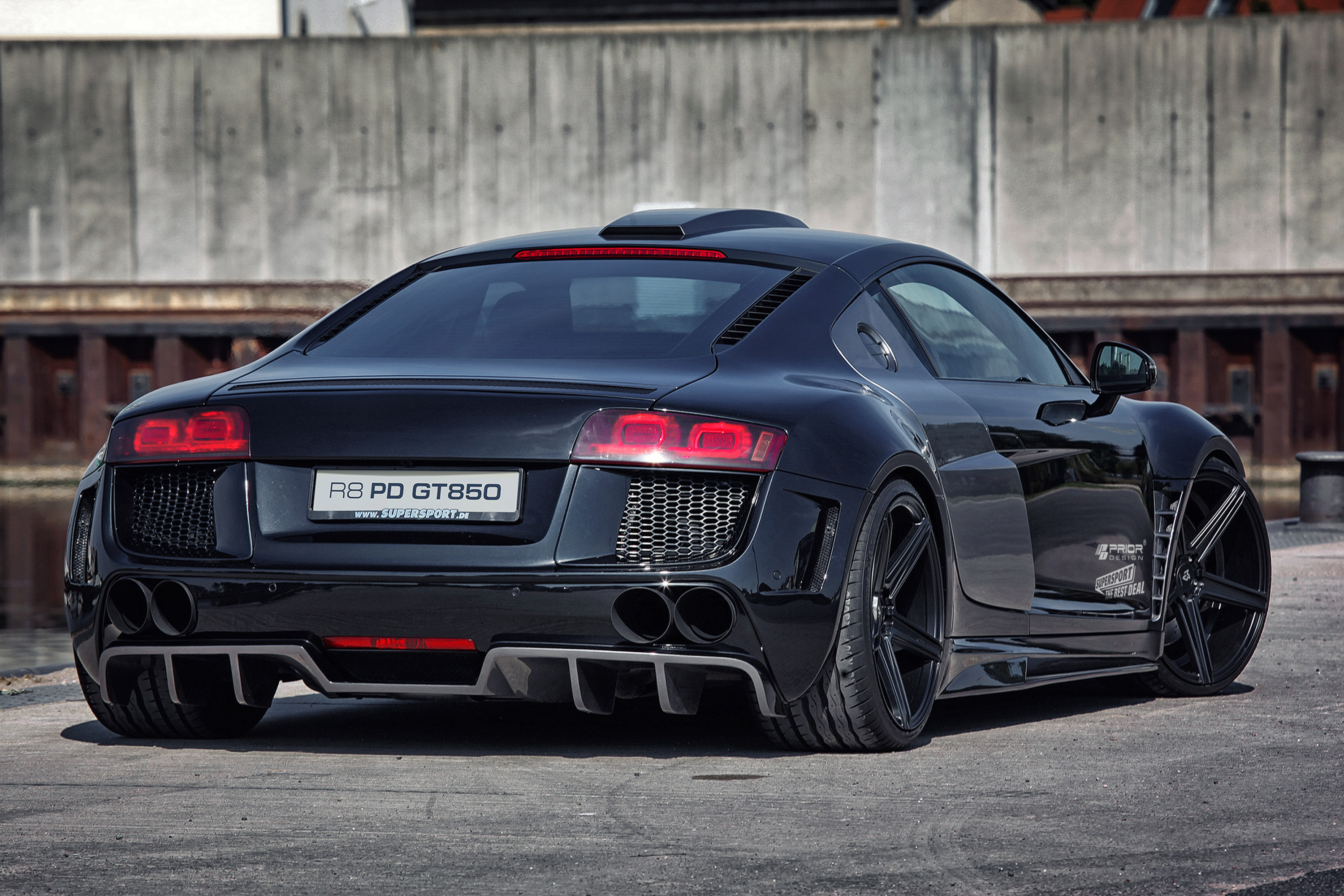 Prior Design Audi R8 Pd Gt850 Widebody Aerodynamic Kit