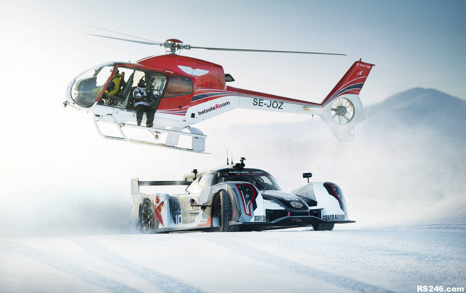 Rebellion R2k Jon Olsson Heli Snow Winter Wrc Rally