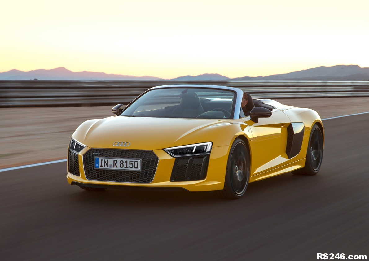 All-New Open-Top Audi R8 Spyder Now Available in the UK