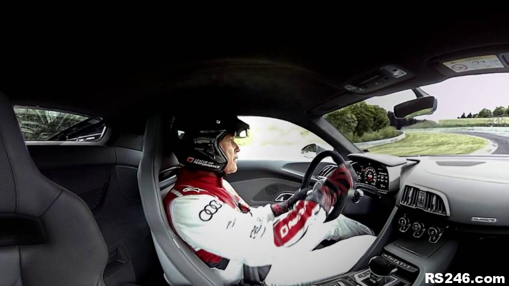 Audi R8 360° lap of the Nordschleife Nürburgring