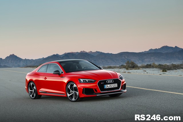 New Audi RS5 Coupe at Geneva